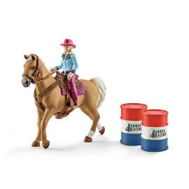 Schleich Barrel Racing with Cow Girl
