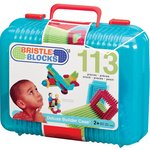 more details on Bristle Blocks Deluxe Builder Case with 113 Pieces.