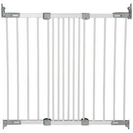 BabyDan Super Flexi Fit Safety Gate - White.