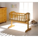 more details on East Coase Vienna Swinging Crib - Antique.