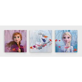 Disney Frozen 2 Set of 3 Canvases
