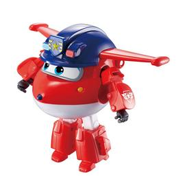 Super Wings Transforming Character Police Jett