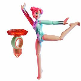 Team Gem Magic Balance Gymnast Doll Ruby