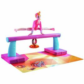 Team GEM Magic Gemtastic Balance Beam and Gymnast Doll Amber