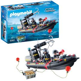 Playmobil 9362 City Action SWAT Boat