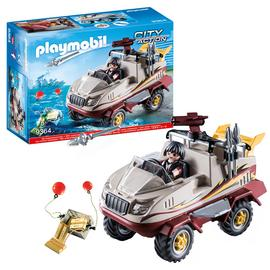 Playmobil 9364 City Action Amphibious Truck