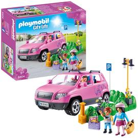 Playmobil 9404 City Life Family Car