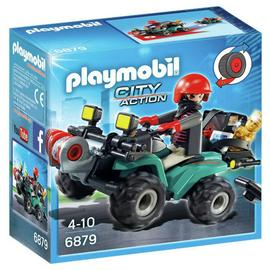 Playmobil 6879 City Action Robbers Quad