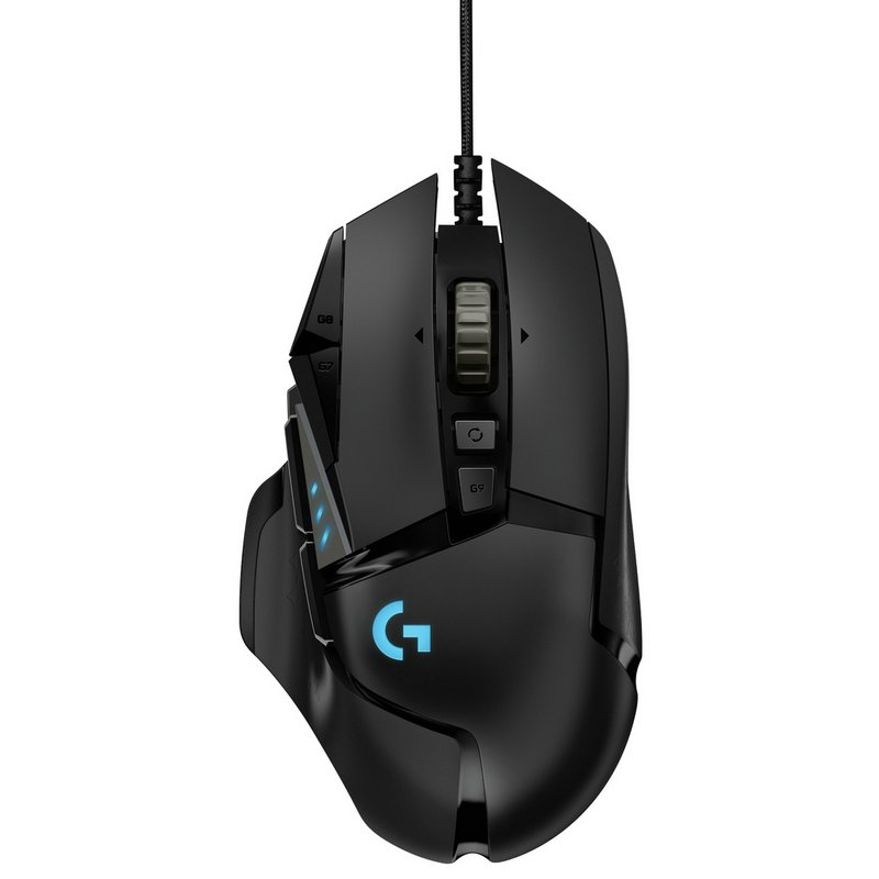 Logitech G502 Hero Wired Gaming Mouse from Argos