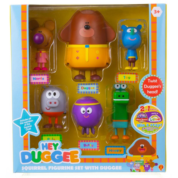 Buy Hey Duggee Squirrel Figurine Set With Duggee Gift Pack Playsets And Figures Argos