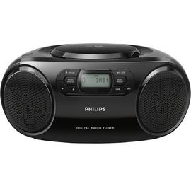 Philips AZB500 DAB CD Boombox – Black