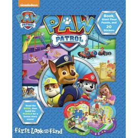 Nickelodeon PAW Patrol Look and Find Giant Puzzle