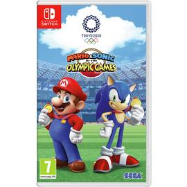 Mario and Sonic 2020 Olympics Nintendo Switch Pre-Order Game