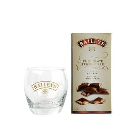 Baileys Glass and Chocolates