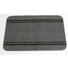 Kilkis Machine Washable Rug - 67x100cm - Charcoal