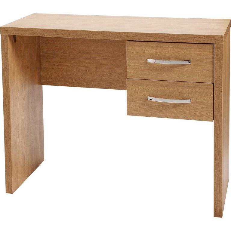 Buy Jarvia 2 Drawer Office Desk Oak Effect At Argos Co