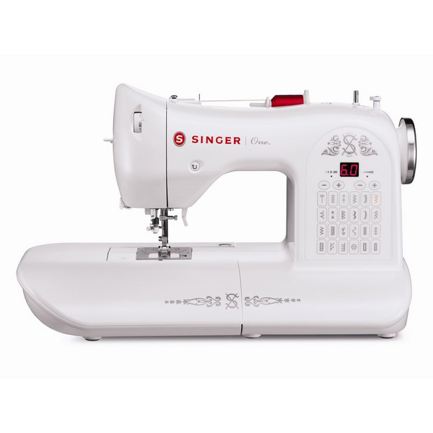 Buy Singer Model One Sewing Machine - White at Argos.co.uk ...