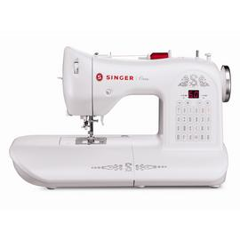 Singer Model One Sewing Machine - White.