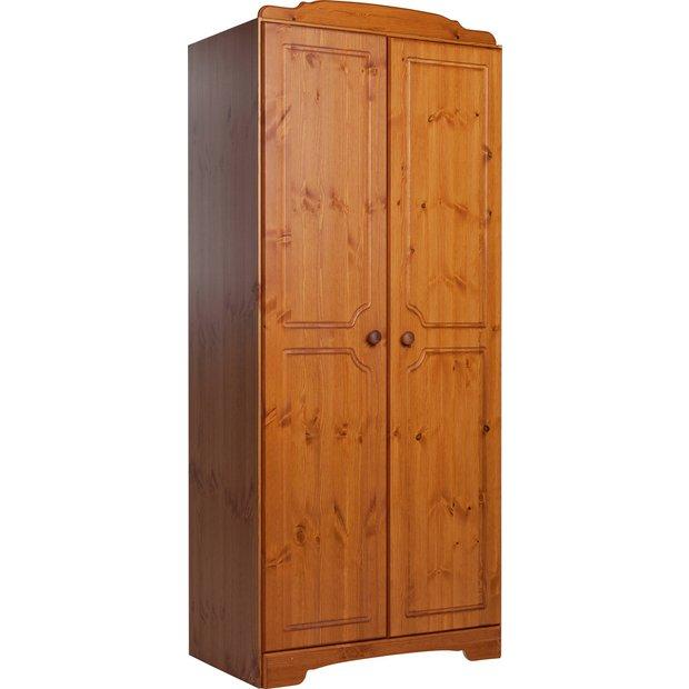 Buy HOME Nordic 2 Door Wardrobe - Pine at Argos.co.uk ...