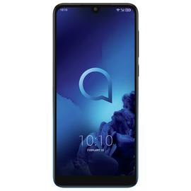 SIM Free Alcatel 3 32GB Mobile Phone - Black/Blue