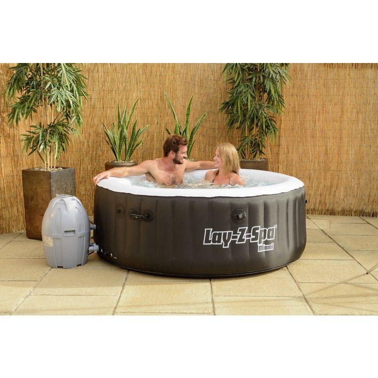 Coffee Shop Furniture Hot Tub: Buy Miami 2-4 Person Lay-Z-Spa Hot Tub At Argos.co.uk