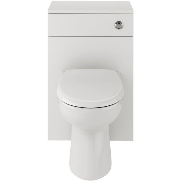 buy lavari ferne wc unit white with toilet and seat at. Black Bedroom Furniture Sets. Home Design Ideas