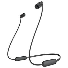 Sony WI-C200 In-Ear Wireless Headphones - Black