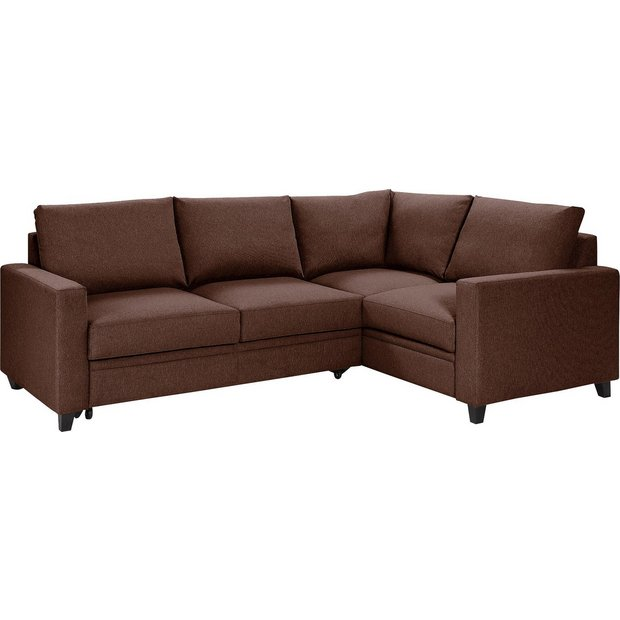 buy hygena seattle fabric right hand corner sofa bed. Black Bedroom Furniture Sets. Home Design Ideas