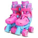 more details on Zinc Adjustable Quad Skates - Pink.