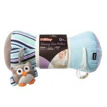 Nuby Little Fox Tummy Time Roller Pillow