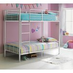 more details on HOME Maddison Single Bunk Bed Frame - White.