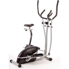 V-fit MCCT1 Magnetic 2-in-1 Cycle-Elliptical Trainer