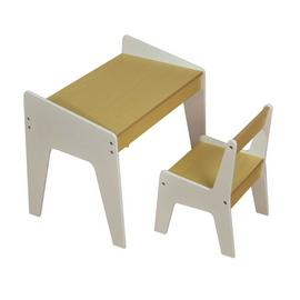 Liberty House White & Pine Kids Play Table