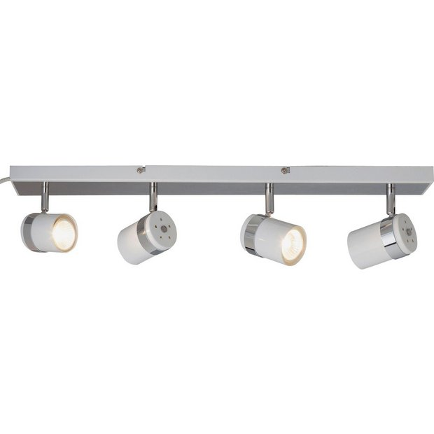 Buy Collection Shiro 4 Spotlight Bar White And Chrome At