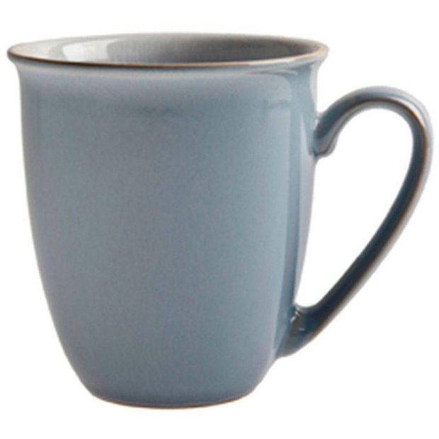 buy denby everyday set of 4 mugs cool blue at your online shop for tea sets. Black Bedroom Furniture Sets. Home Design Ideas