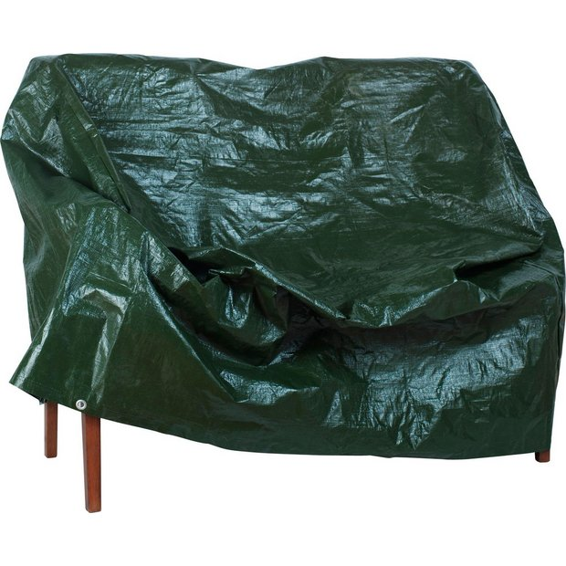 Buy Home 4ft Heavy Duty Plastic Garden Bench Cover At