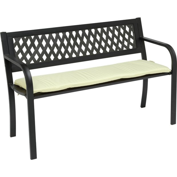 Gorgeous Buy Garden Benches And Arbours At Argoscouk  Your Online Shop  With Likable  More Details On Home Ft Steel Bench With Cushion With Delectable Forest Garden Mini Greenhouse Also Garden Furniture Made Out Of Pallets In Addition Garden Wood Chipper And Hilton Garden Inn Midtown As Well As Melbricks Garden Centre Additionally Container Gardening Uk From Argoscouk With   Likable Buy Garden Benches And Arbours At Argoscouk  Your Online Shop  With Delectable  More Details On Home Ft Steel Bench With Cushion And Gorgeous Forest Garden Mini Greenhouse Also Garden Furniture Made Out Of Pallets In Addition Garden Wood Chipper From Argoscouk