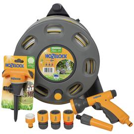 Hozelock Compact Reel with Accessories - 20m