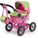 more details on Bayer Design Trendy Doll Pram - Pink.