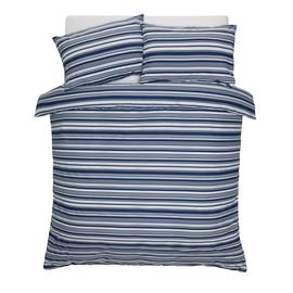 Argos Home Stripe Print Bedding Set - Double