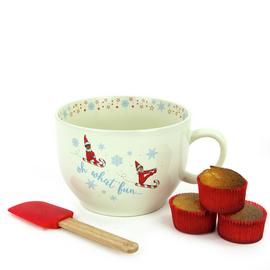 Elf On The Shelf Bowl & Cookie Kit