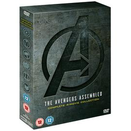 Marvel's Avengers Complete 4 Movie DVD Box Set