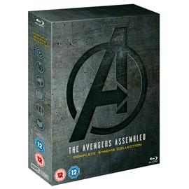 Marvel's Avengers The Complete 4 Movie Blu-Ray Box Set