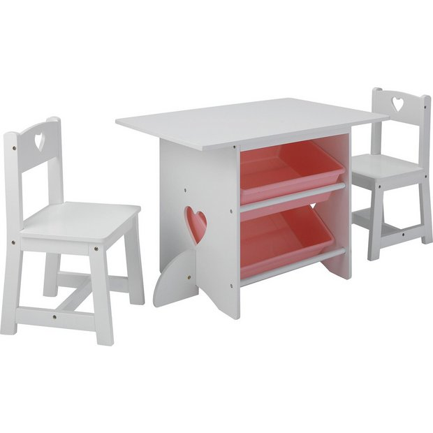 Buy Collection Mia Table And Chairs White At Your Online Shop For Children 39 S