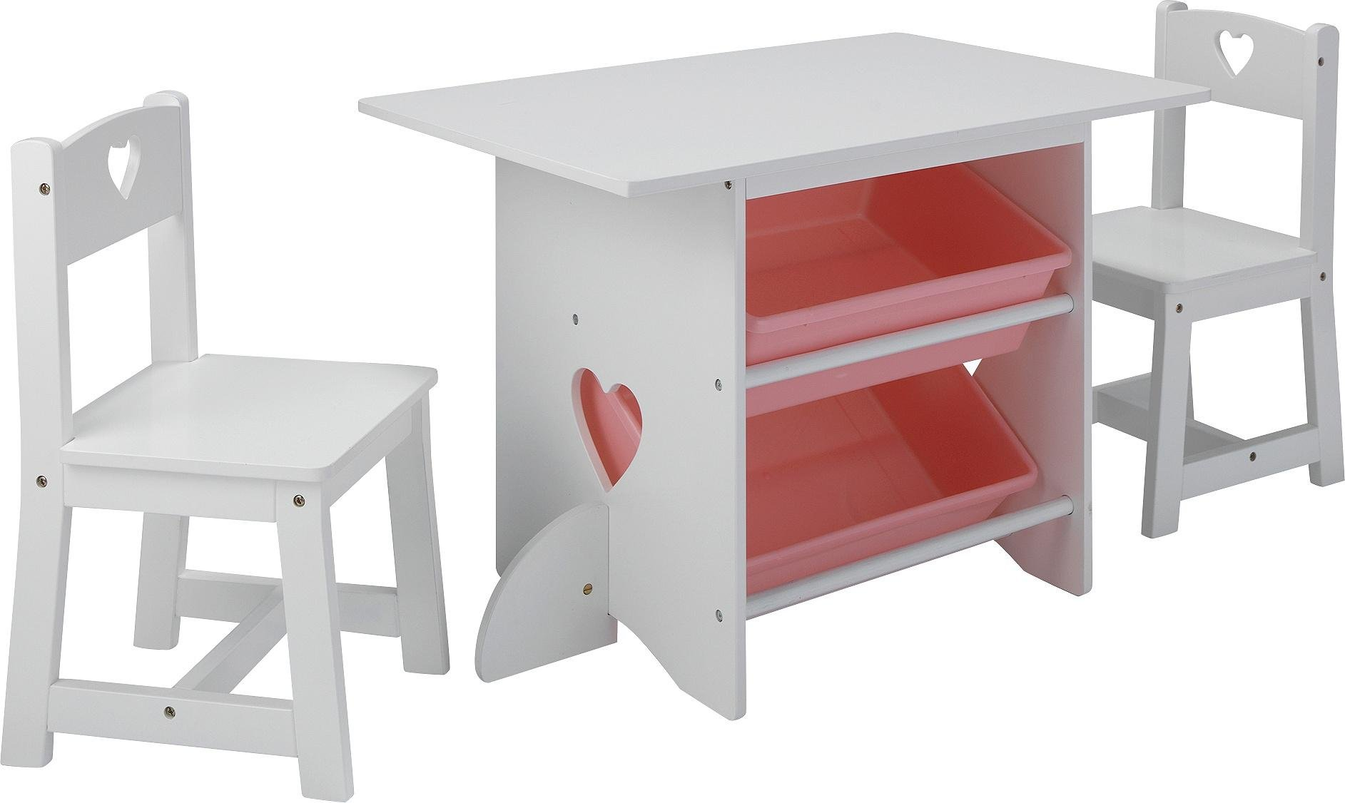 Collection Mia Table and 2 Chairs - White  sc 1 st  Argos & Children\u0027s tables and chairs   Furniture for kids   Argos