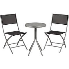 Argos Home Kara 2 Seater Metal Bistro Set