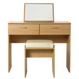Argos Home Cheval Dressing Table Stool and Mirror