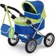 more details on Bayer Design Trendy Doll Pram - Blue & Green.