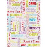 more details on Script 4 Metre Gift Wrap.