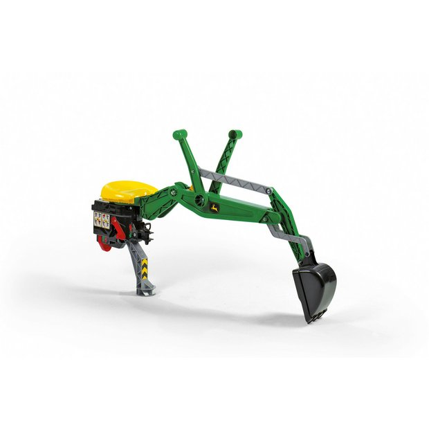 John Deere Baby Gifts Uk : Buy rolly toys rear excavator john deere for